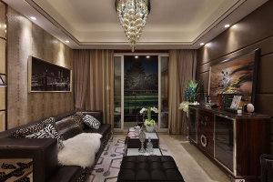 华宇广场116㎡三居室欧式风格