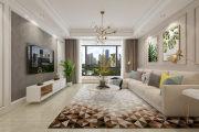 世纪公馆145㎡现代简约风格三居室