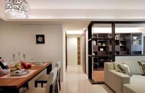 【维享家装饰】69㎡现代二房,优雅的线条感!
