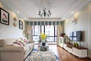【维享家装饰】102平三居室美式经典风格家