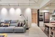 【维享家装饰】72平北欧风格原木系新家
