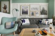 【维享家装饰】92三居室薄荷之绿的美式新家